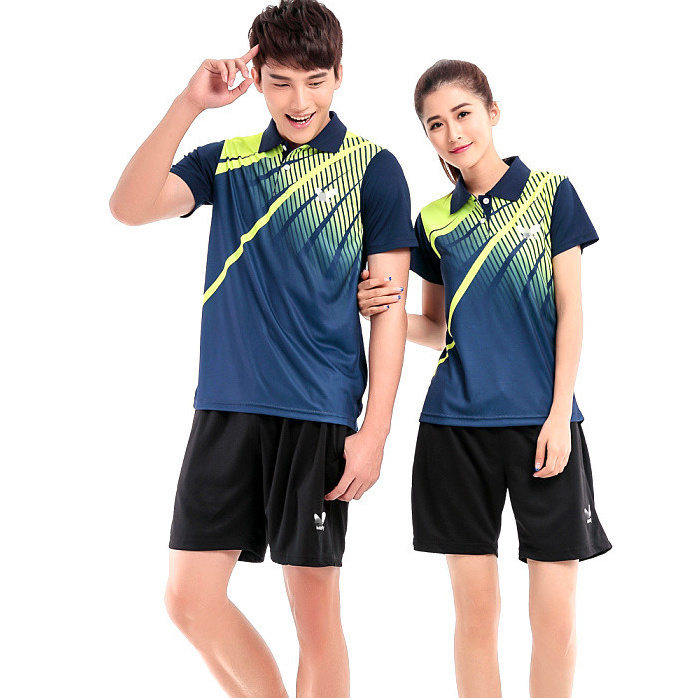 Free shipping New arrival Butterfly Sport Shirt fashion table tennis clothes sport clothes badminton shirt(China (Mainland))