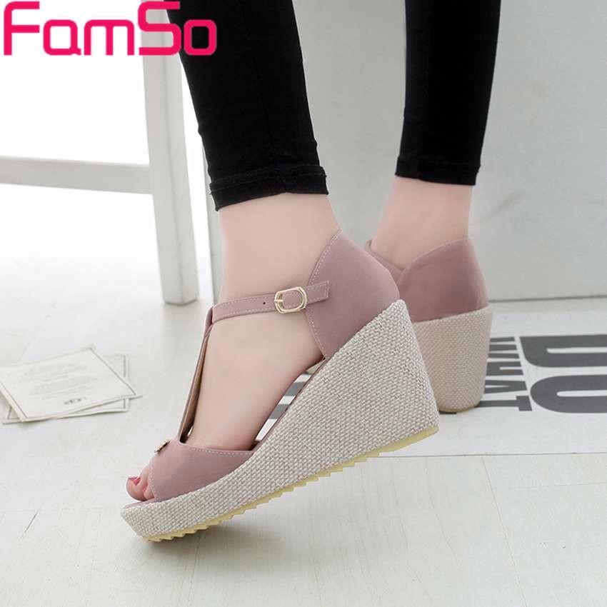 ซื้อ จัดส่งฟรี2016รองเท้าผู้หญิงรองเท้าแตะสีดำรองเท้าส้นสูงฤดูใบไม้ผลิสุภาพสตรีรองเท้าลำลองแพลตฟอร์มปั๊มR Etroรองเท้าแตะของผู้หญิงPS2511