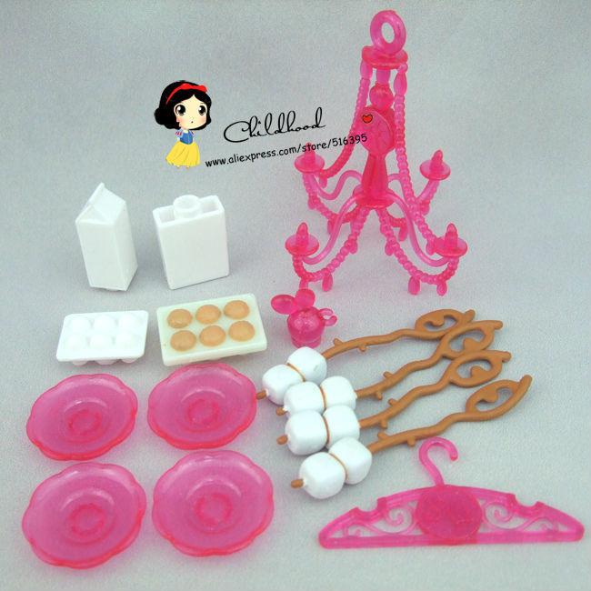 Barbie Toy Food : Doll house original mini cup milk food accessory