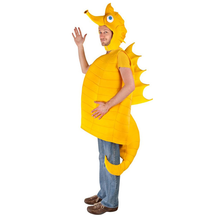 Seahorse Costume For Adults 2015 New Funny Adult Seahorse