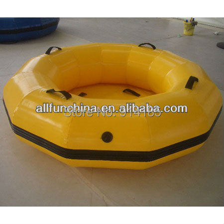inflatable raft boat for 1~2 person, size Dia 1.8m .(China (Mainland))