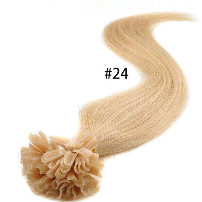 Indian Remy Nail Tip Extensions 68