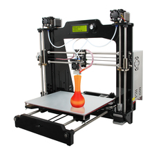 2015 Newest Upgraded Quality High Precision Reprap Prusa I3M201 DIY Full Acrylic 3d Printer Kits Big Printing Size Free LCD