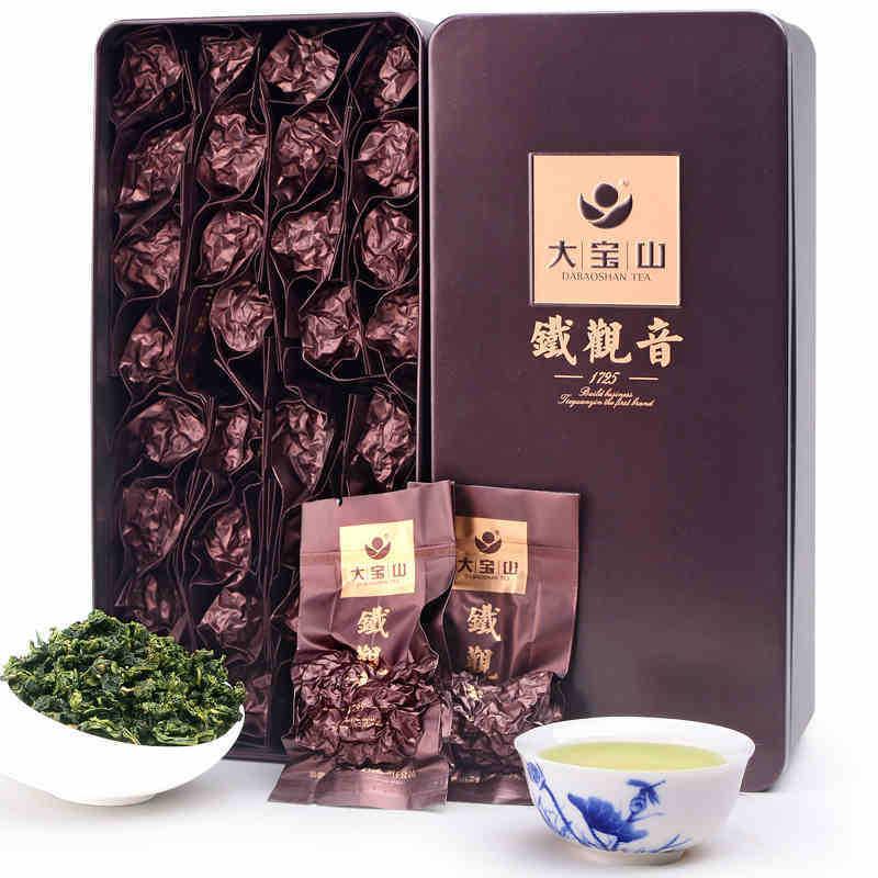32 pack/box ! New Arrival Anxi Tie Guan Yin Oolong Tea 250g Chinese Tea Gift Lowest Price High Mountain Organic Tieguanyin Tea(China (Mainland))