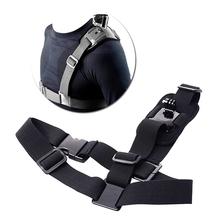 Shoulder Strap Mount Harness For Gopro Sjcam Camera Gopro Hero 4 Sport Cameras Xiao mi Yi SJCAM SJ4000/SJ5000/SJ6000 Accessories(China (Mainland))
