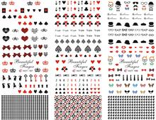 HOTS ALE HOT281 Water decal Nail Sticker European style Jackson – Hepburn – Marilyn Monroe