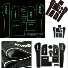 Door tank pad storage slip-resistant pad shockproof waterproof auto accessories for Volkswagen golf 7 MK 7 (China (Mainland))