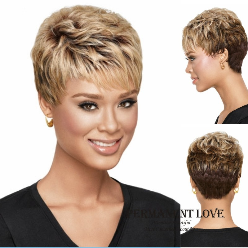 ... wigs for black Women aferican wig-in Synthetic Wigs from Health