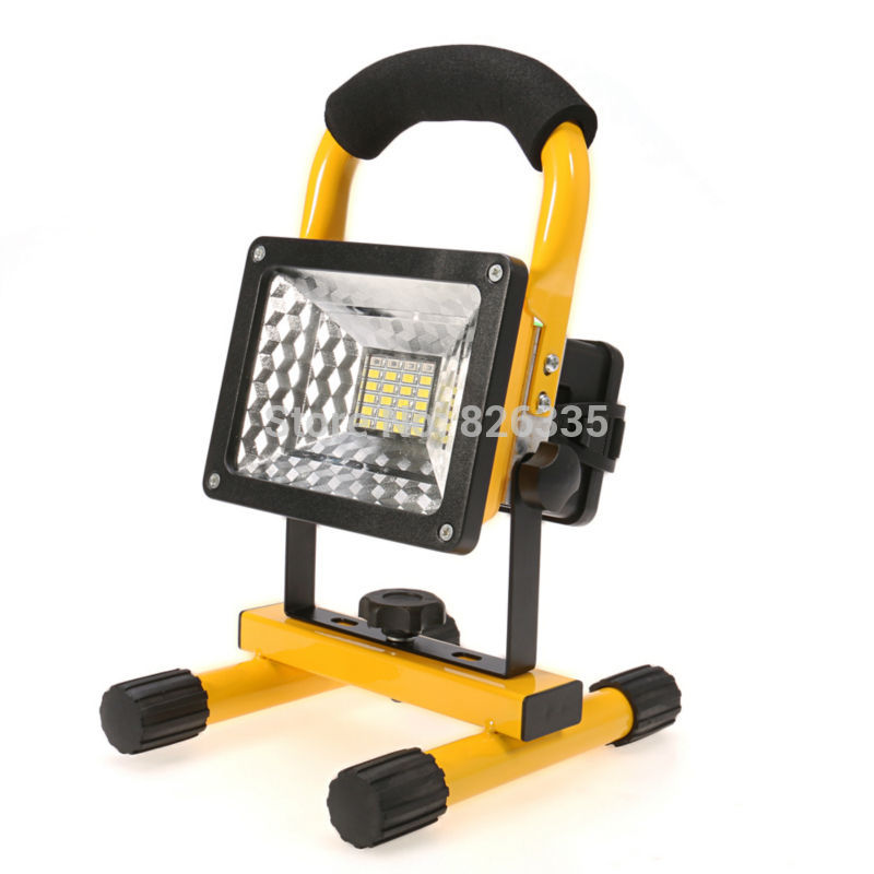 Portable IP65 Spotlight LED Street Outdoor Waterproof 3 Modes Flood Light Rechargeable Work Emergency Camping Fishing - G-Top Team store