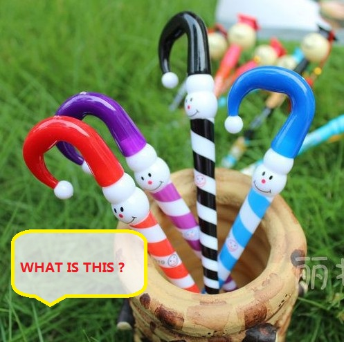 WHAT IS THIS? Event & Party Supplies Small gift funny gadgets Magic the Clown umbrella pen Z911(China (Mainland))