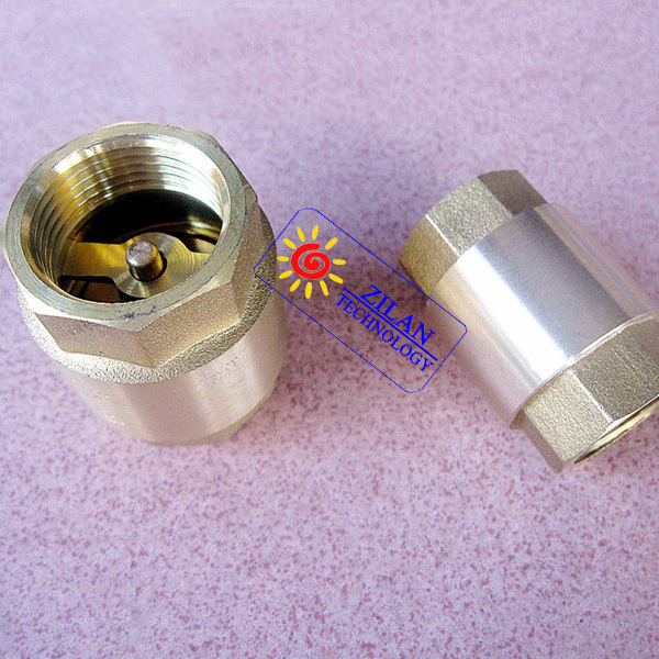 "3/4"" check valve for solar hot water heater solar collector flat solar panel(China (Mainland))"
