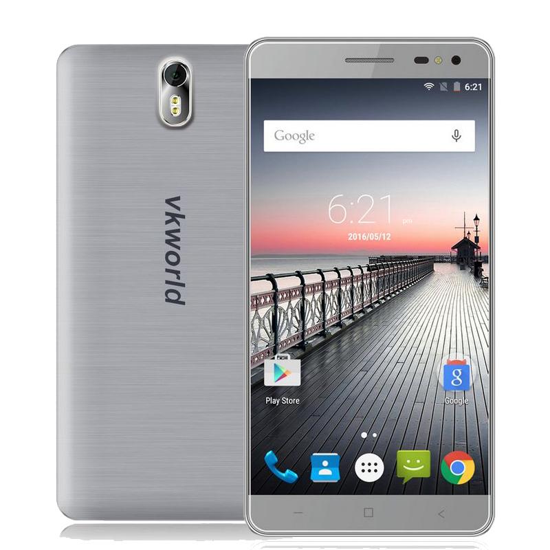 "Original Vkworld G1 4G LTE Cell Phone 5.5"" MTK6753 Octa Core 3GB RAM 16GB ROM Android 5.1 13MP 5000mAh Big Battery Dual SIM GPS(China (Mainland))"