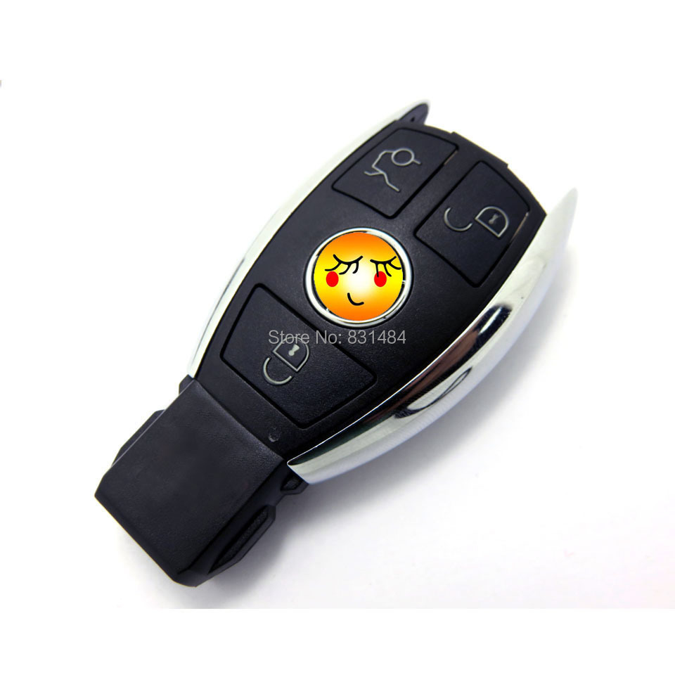 New style key case shell for Mercedes benz 3 buttons smart key case cover fob selling(China (Mainland))