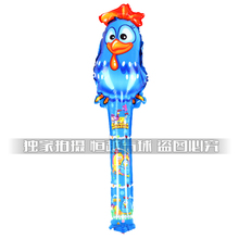 Free shipping the chicken bangbang cheer stick balloon inflatable figures mix designs