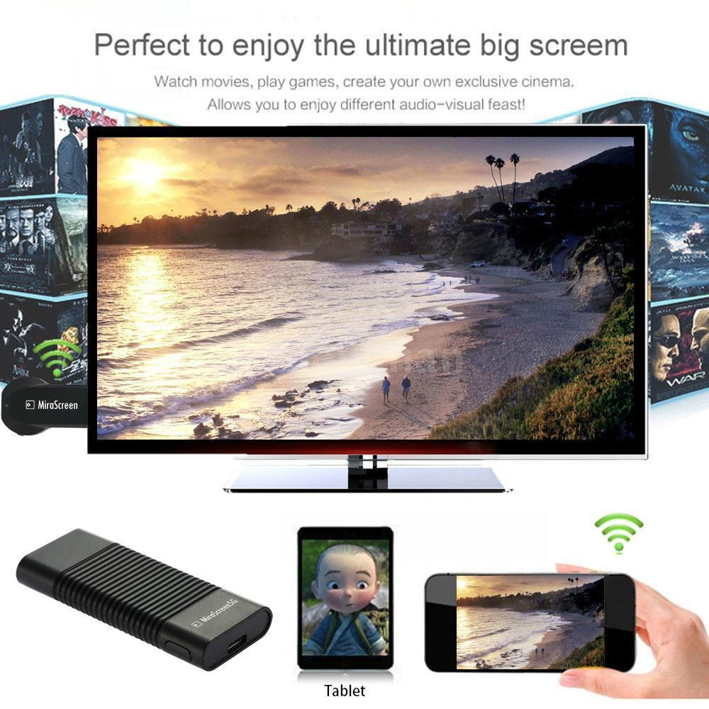 MiraScreen 5G Wireless Wifi to HDMI TV Dongle Receiver Best than Chromecast EZCAST weCast For iPad Samsung iPhone HTC LG SONY(China (Mainland))