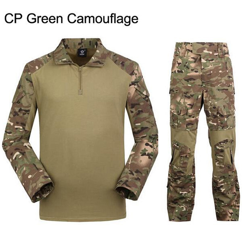 commando camouflage frog suits CP pants tactical jungle army uniform