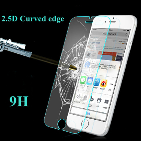 6 6s Plus 9H Tempered Glass Explosion proof Anti Scratch Screen Protector for iPhone 5 5s