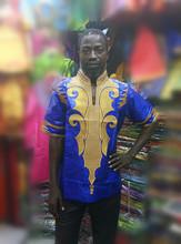 Afrikanische männer shirt African neuen bazin riche stickerei männer Shirt( lange Ärmel)(China (Mainland))