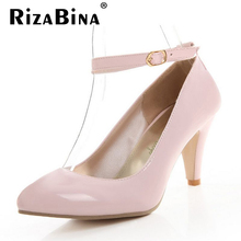 CooLcept free shipping thick high heel shoes women sexy fashion lady platform pumps P11932 hot sale EUR size 31-43