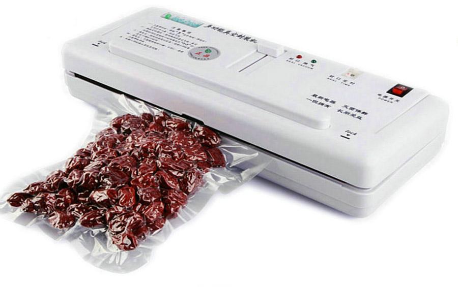 2016 Hot Sale Rushed Electric Vacuum Food Sealer Heat Sealing Machine Household Packing Sealers Saver Preserver + Free Shipping(China (Mainland))