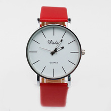 11 color Free shipping 2016 Fashion New Retro Casual  female students Slim business watches belts couple tables for women W0144