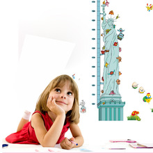 The statue of liberty in New York MJ8021 children's room entrance can be moved with the height of waterproof wall(China (Mainland))
