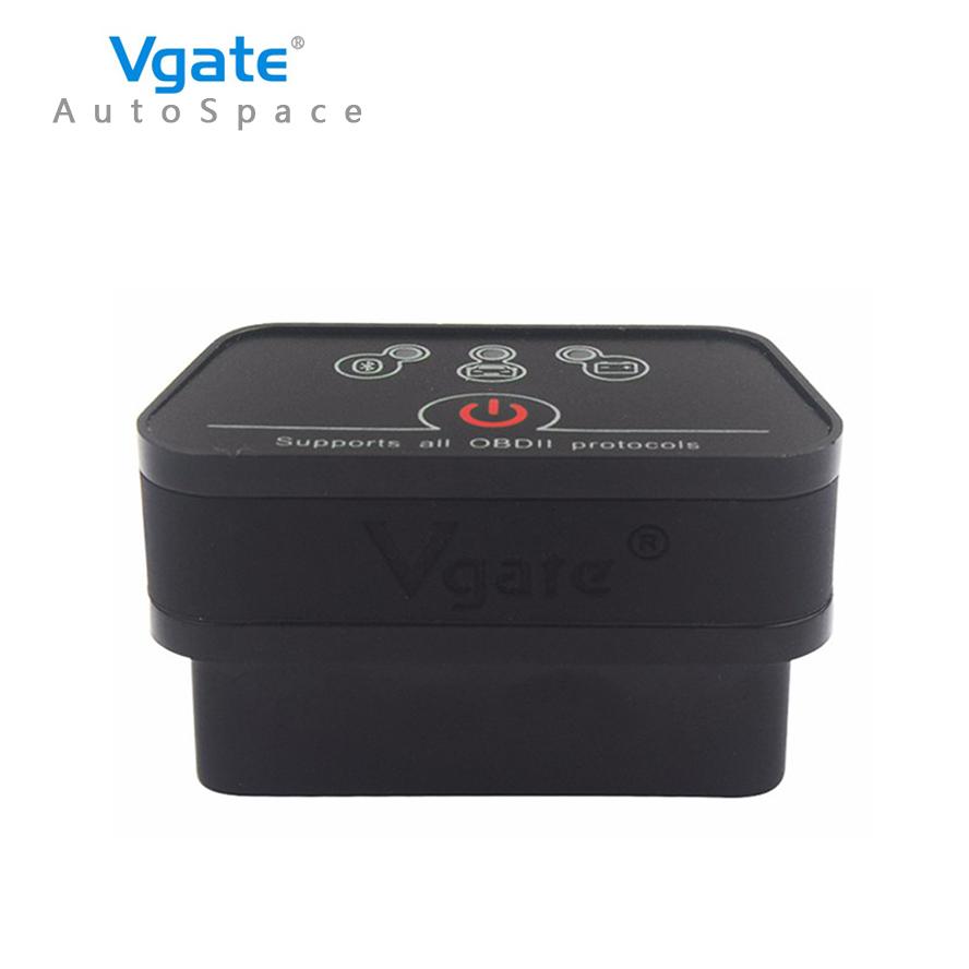 2017 New Vgate iCar2 ELM 327 V2.1 Bluetooth OBD2 Scanner iCar-2 ELM327 Diagnostic Error Code Reader Scanner Adapter OBD 2 OBDII(China (Mainland))