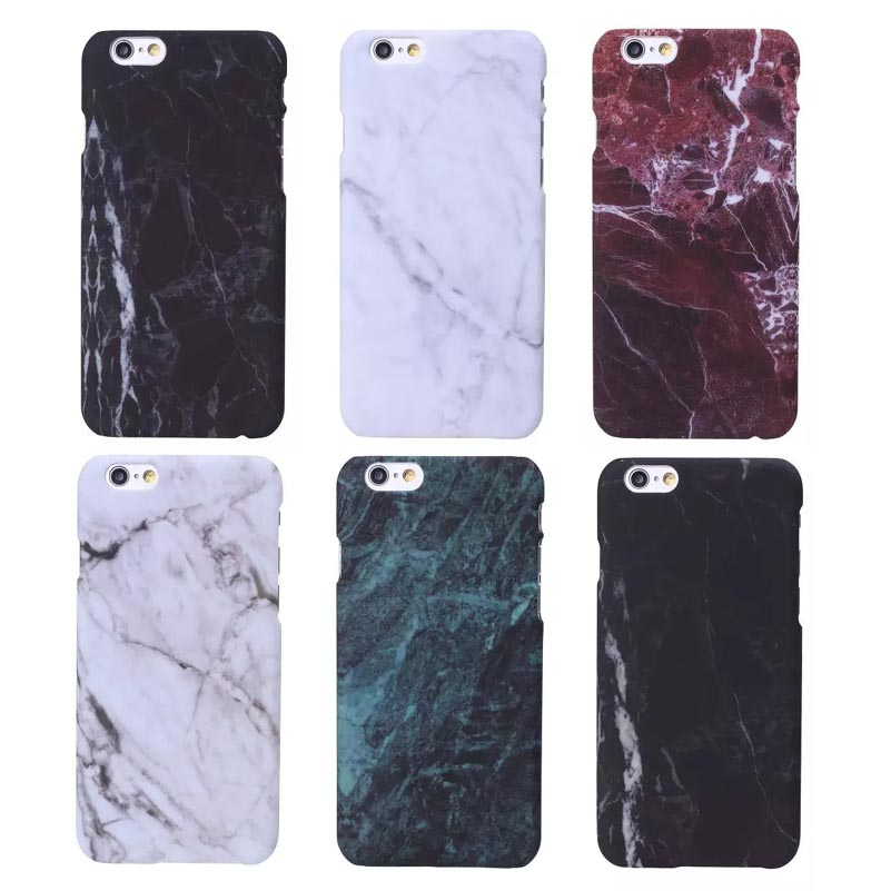 i5/i6/6P Fashion Phone Cases For iPhone 5 Case Marble Stone image Painted Cover For iphone5 5S 6 6S / Plus New Screen Protector(China (Mainland))