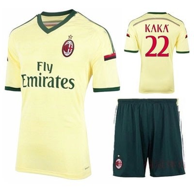 2014-2015 AC milan home black+red soccer uniform kits soccer sport jerseys 100% emboidery logo patch &short 10set/lot(China (Mainland))