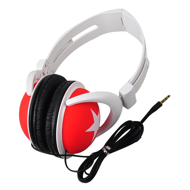 High Quality Big Star Stereo Headset Earphones And Headphones For iPhone Samsung HTC MP4 MP3 Phone Laptop