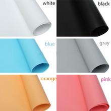 2PCS 70CMX140CM Photo Photography Paper Roll Studio Lighting Background Backdrop PVC