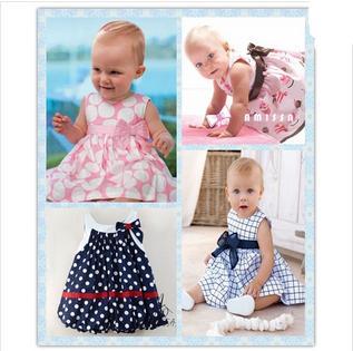 2015 New Cute Baby Dress Baby Girl Dress Spring Infant Dresses 1 Year Birthday Dress For Babies Vestido Para Bebe 0-24M(China (Mainland))