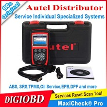 AUTEL  MaxiCheck Pro service tool Service to ABS SRS TPMS Oil Service EPB, DPF and more  individual specialized systems(China (Mainland))