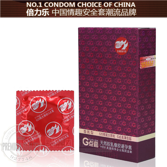 Latex sexual scent G Spot Condom Big particle G-point Condom Sex Toys condom Adult toys Wholesale 30pc/lot  send with red box