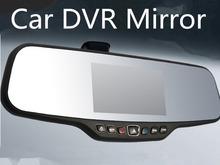 "100% Original C20 Car DVR Mirror Full HD NTK96650 1920*1080P 30FPS 12.0MP CMOS 4.3""LCD 170 Degree View Angle Rearview Camera(China (Mainland))"