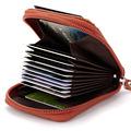 2017 Luxury Women Men 100 Cow Genuine Leather Business Card Bag Organ Design Bank Credit Card