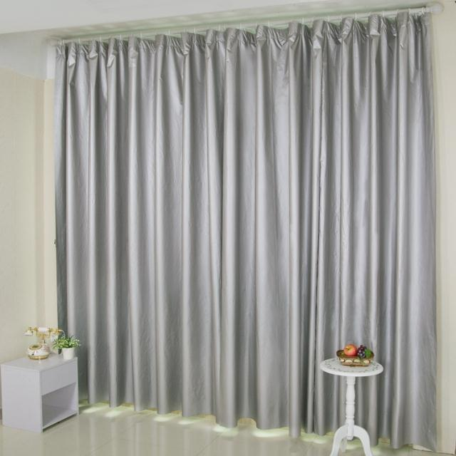 Curtains For Living Room Double Silver All Shading Curtains Washable Waterproof Curtains For