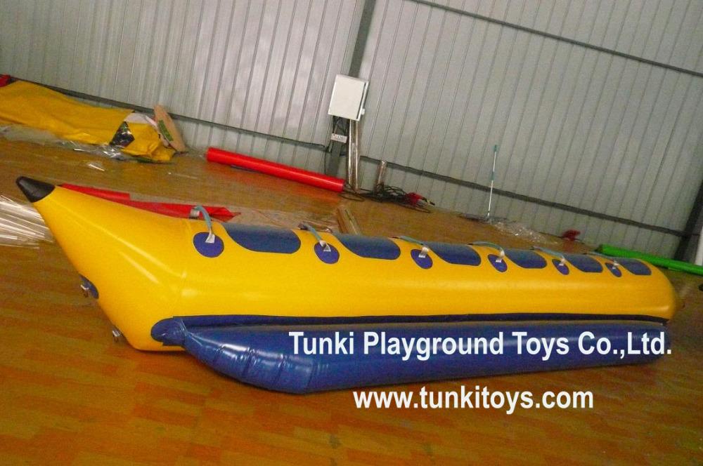 Hot selling inflatable banana boat/ flying fish boat(China (Mainland))