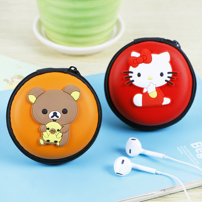 women and girls cartoon cute silicone hand with water proof headset coin purse zero purse female coin bag free shipping<br><br>Aliexpress