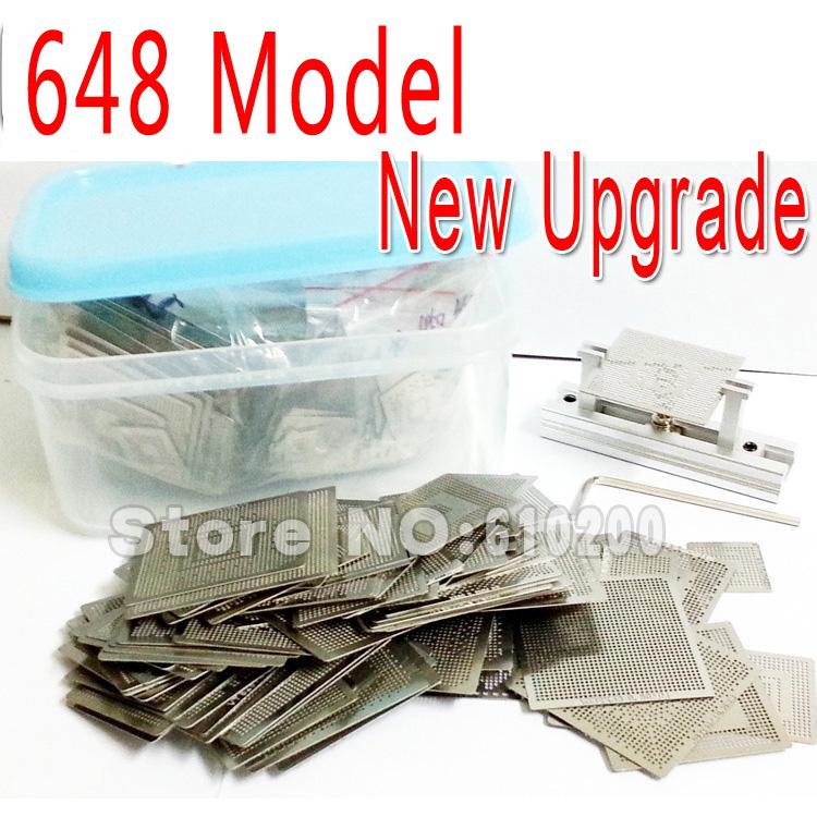 2015 New Upgrade 648/model BGA Stencil Bga Reballing Stencil Kit with direct heating Reballing station Replace 561/pcs(China (Mainland))