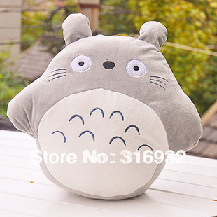 J5 Cartoon totoro plush hand warmer pillow , good for gift, 1pc