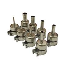 8PCS 3/4/5/6/7/8/10/12 BGA Circular Nozzles 850 Hot Air Rework Reflow Soldering Station Free shipping