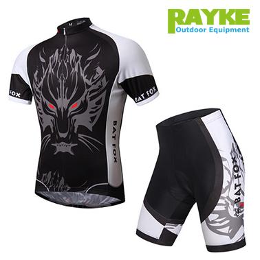 2015 the latest cycling jerseys BAT FOX fast dry breathable bicycle clothing/gel pad mountain bike bib shorts(China (Mainland))