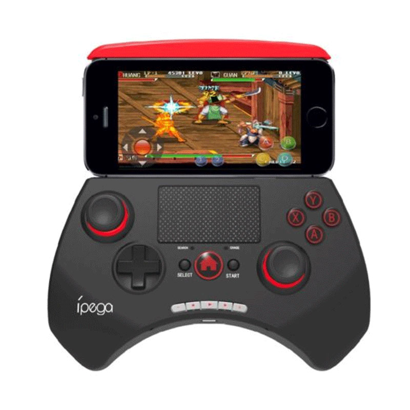 Bluetooth Wireless Game Controller with trackpad for phone or tablet <br><br>Aliexpress