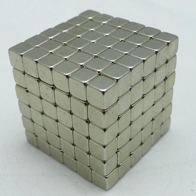 216PCS 3mm Neodymium Magnetic Balls Neo Nickel Magic Cube Spheres Beads Magnets Puzzle Neo Cube Magic DIY Kids Educational Toys(China (Mainland))