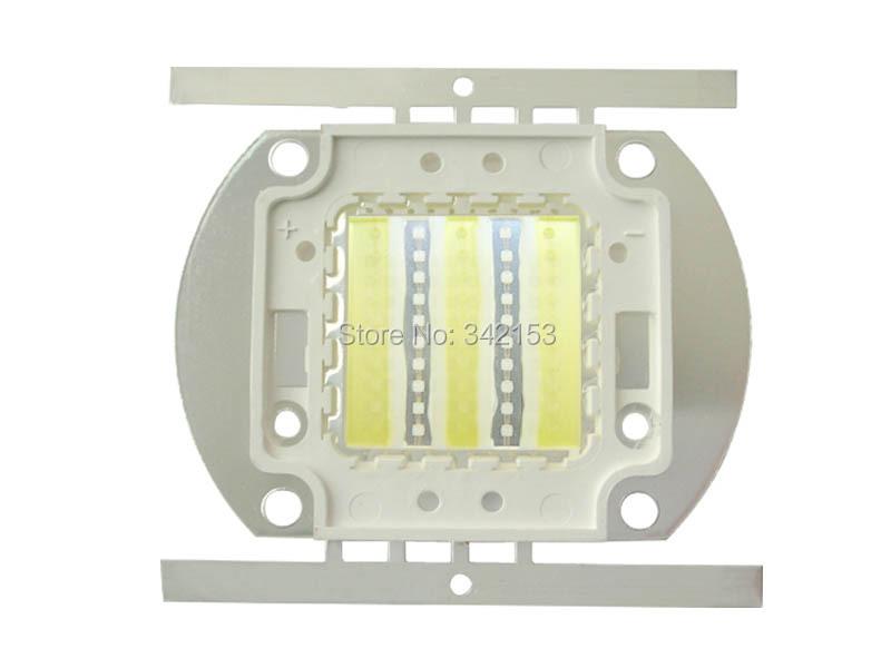 50W High Power Led Emitter Cool White 15000K + Royal Blue 450nm-455nm DC 32V-36V 1.6A HP LED Light Lamp(China (Mainland))