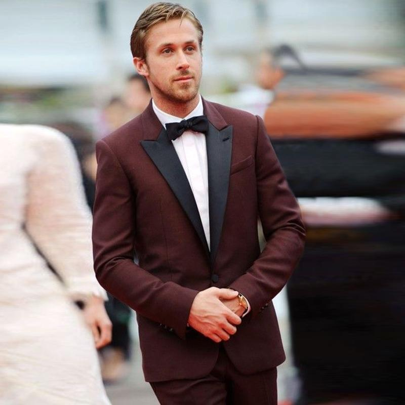 Popular Maroon Prom Suit-Buy Cheap Maroon Prom Suit lots from