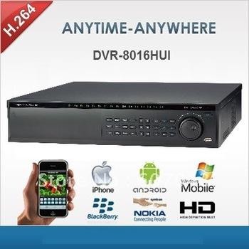 DVR-8016HUI-16 Channel video recorder security DVR