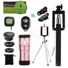 Buy Universal Clips 15in1 Phone lens kit 10x Zoom Telephoto Lentes Fisheye Wide Angle Macro Lenses iPhone 6 6s 7 Xiaomi Meizu LG for $20.71 in AliExpress store