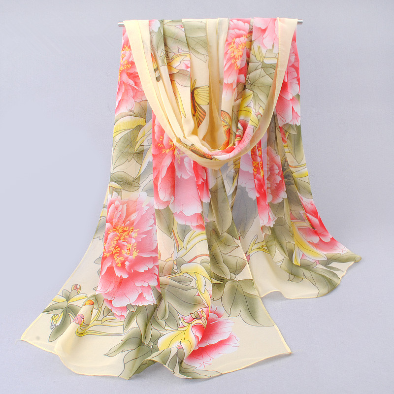 new fashion chiffon scarf shawl silk scarves